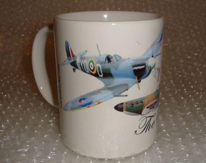 Spitfire Plane Mug