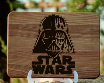 Star Wars gift, Gift for Him  Star wars cutting board, Darth Vader gift,Christmas gift for boyfriend, Star Wars inspired gift|for|him