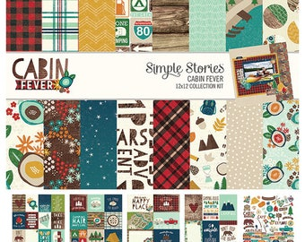 Simple Stories Cabin Fever Collection Kit