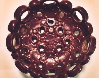 Mini holey bowl- purple