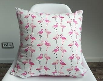 """Cushion cover """" Flamingo Beach"""""""