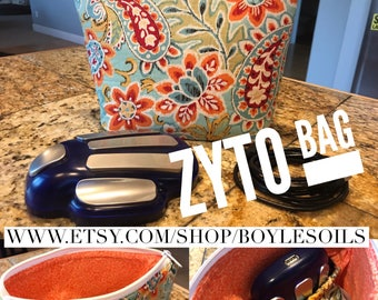 Zyto Scanner Carrying Case - Bright Paisley