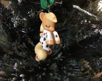 "Custom ""Waiting For Santa"" MLP Ornament"