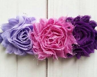 Purple Vintage Headband/Purple Headband/Infant Headband/Toddler Headband/Flower Headband/Floral Headband/Vintage Headband/Baby Girl Headband