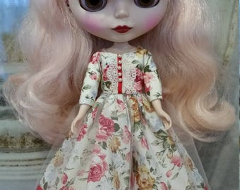 Blythe outfit - dress and headband