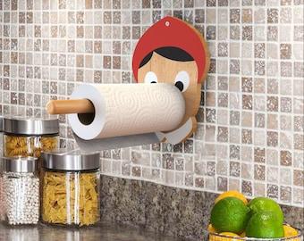 Naughty Boy - kitchen paper towel holder