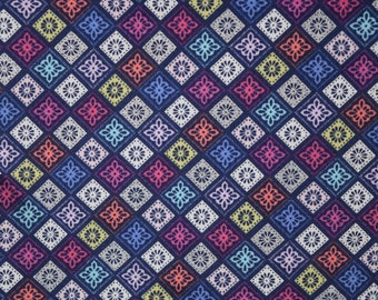 Small Cut Out Squares from Buttercream Premium Fabrics