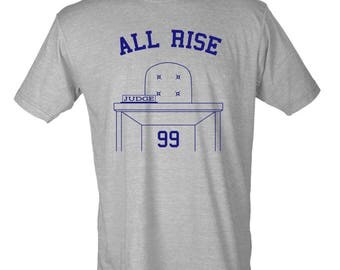 MLB Aaron Judge #99 All Rise New York Yankees Graphic T-Shirt