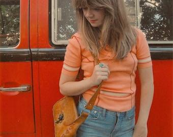 Vintage 1970s Sailor Top, size S-M