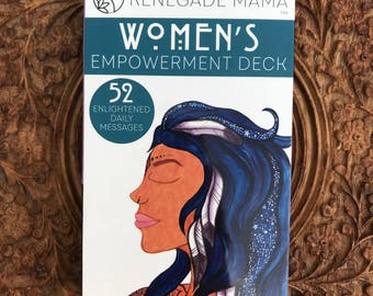 Women's Empowering Affirmation Cards by The Renegade Mama