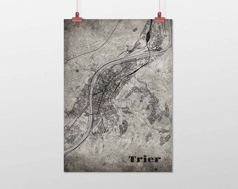 Trier - A4 / A3 - print - OldSchool