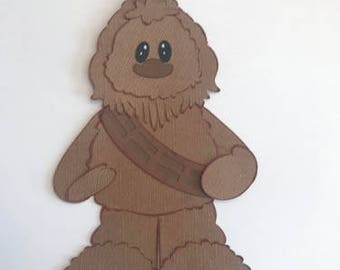 Chewbacca Star Wars Premade Scrapbook Pages Die Cut