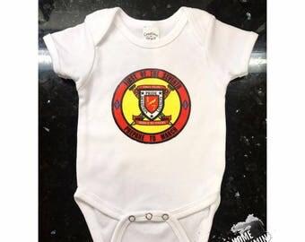 Baby Onesie Military Unit Logo
