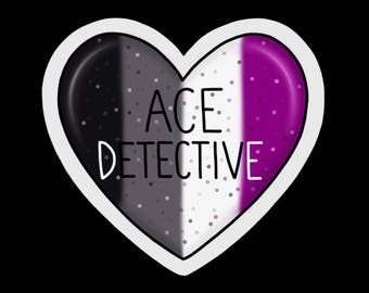 Ace-Detective Sticker