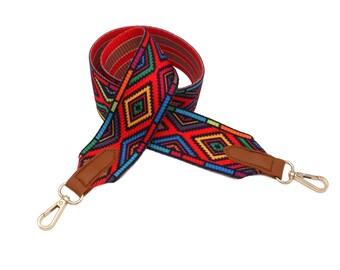 Bag belt coloured shoulder strap shoulder strap ladies