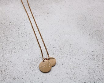 Valentines gift for her - Valentines gift for girlfriend - Personalised necklace