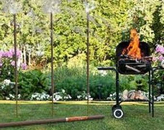 Outdoor Garden Incense Citronella All-natural  Sizes Giant 5 foot 4 foot 3 foot tall with up to 14 hour burn on Giant stick Hand Made in USA