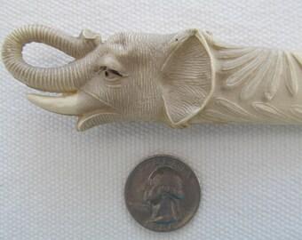CELLULOID LETTER OPENER Elephant 1930's