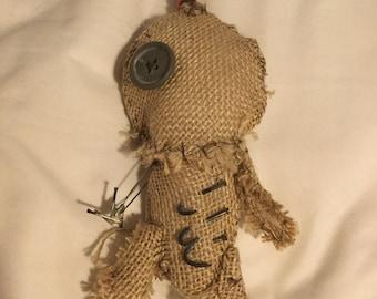 Burlap Voodoo Doll