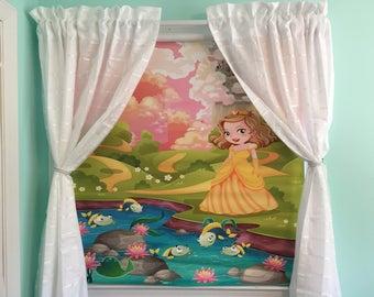 Little Princess-Custom Roller Shade