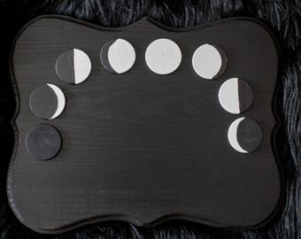 New Moon Intention Chalkboard Plaque