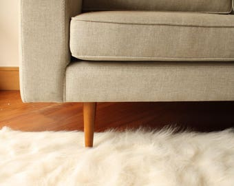 free shipping sheepskin faux fur area rug luxurious white faux fur decorative rug faux