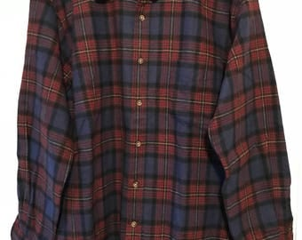 Vtg Original Pendleton Lodge Shirt Sz Men's M