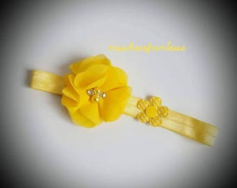 headband for children and adults with flowers