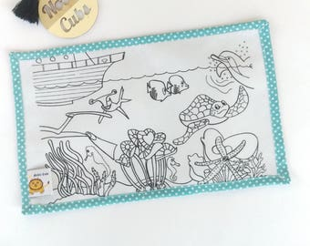 Colouring Mat Add on - Great Barrier Reef