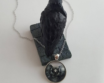 Game of Thrones Three Eyed Crow, Three Eyed Raven, Game of Thrones Jewelry, Bran Stark, All Seeing Crow