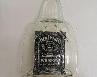 Jack Daniels Tennessee Whiskey Molded Bottle Wall Hanger Art Mnacave Bar decor