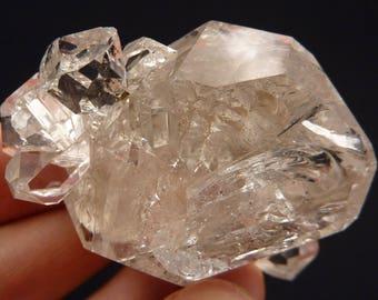 Large Herkimer Diamond | Herkimer Diamond Cluster | Herkimer Diamond | Big Herkimer Diamond | Herkimer Quartz Crystal | 72 grams