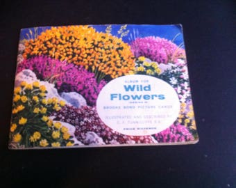 Brooke Bond 1959 Wildflowers Series 2 Blue Back set of 50