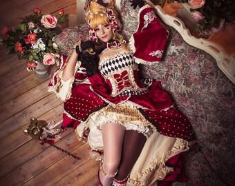 Sakizou, La Chioccolata Arlechina, Sakizo, Chocolate Harlequin, Sakizou cosplay costume