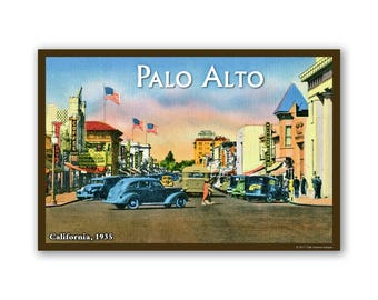 Palo Alto 1935 - On The Road To California
