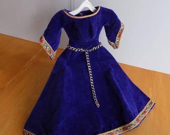 vintage barbie Guinevere Costume/ Gown 1960 orig.