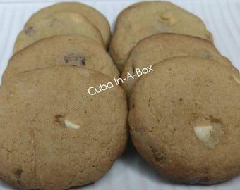 Macadamia Nut White Chocolate Guava Cookies - 1 Dozen ~ Homemade ~