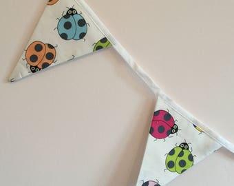 Ladybird - Ladybug - bunting - Handmade - Decoration - room decor - kids room decor - nursery -gift idea