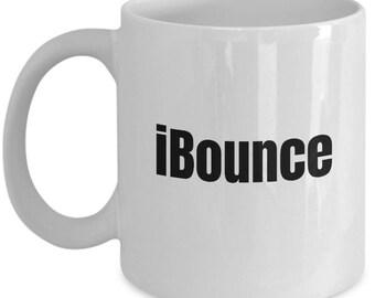 iBounce - Funny Trampolining Gift - Trampoline Coffee Mug