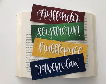 Harry Potter Bookmarks - House Bookmarks [STARFIELD]