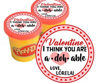 Play Doh Toy Dough Valentine Ideas Red And Pink For Kids Valentineu0027s Day  Gifts To Class