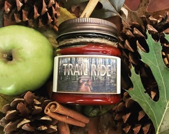 Trail Ride >>--> Paraffin or Soy Candle >>-->Equestrian Candle >>-->Horse Lover >>--> Horse Home Decor >>--> Equestrian Gift