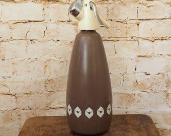 Vintage Brown Soda Syphon