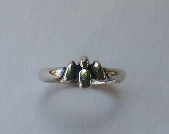 James Avery Sterling Angel Ring