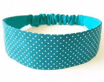 Elastic headband, headband, headband reversible woman