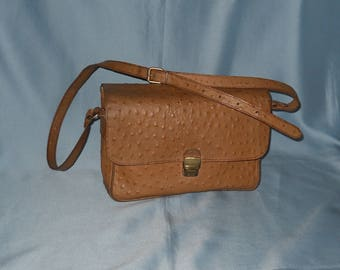 Authentic vintage bag! Genuine leather! Hand made!