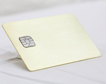 Gold Brass - Metallo Card®
