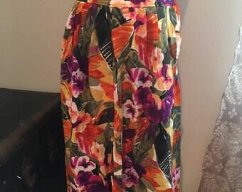 Vintage Danielle B Pocket Skirt
