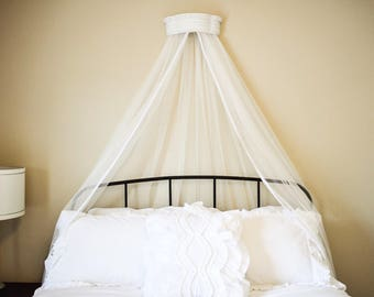 Bed crown, crib crown, bed canopy, crib canopy