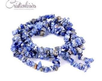 20 chips semi precious stone and irregularly shaped beads